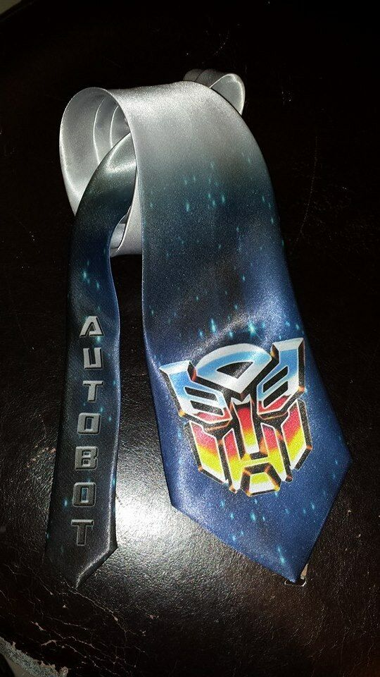 Transformers Autobot logo Neck Tie