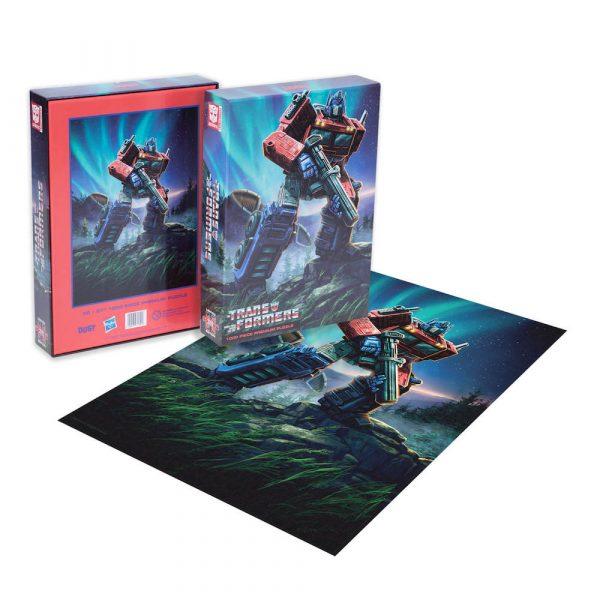 Dust! Transformers Optimus Prime 1000pc Puzzle
