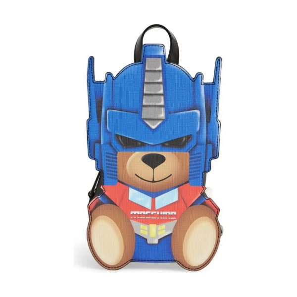 Transformer Bear Faux Leather Backpack