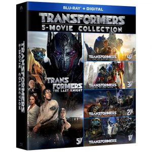 Transformers 5-Movie Collection [Includes Digital Copy] [Blu-ray]