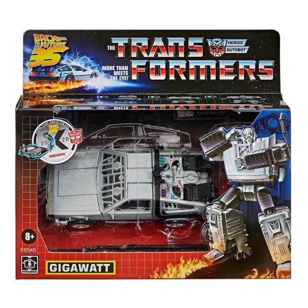 Transformers Back To The Future Figure - Gigawatt 2