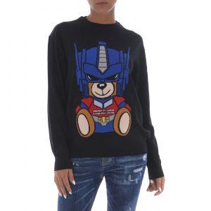 Transformers Bear wool sweater
