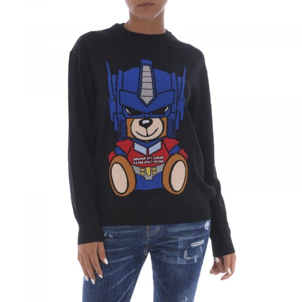 Transformers Bear wool sweater