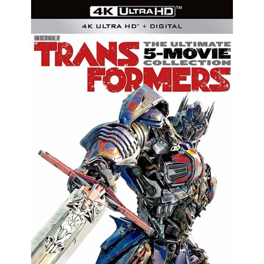 Transformers: The Ultimate 5-Movie Collection (4K Ultra HD + Blu-ray + Digital Copy)