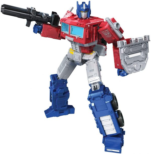 Transformers Toys Generations War for Cybertron: Kingdom Leader Optimus Prime Action Figure WFC-K11