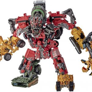 Transformers Toys Studio Series 69 Revenge of The Fallen Devastator Constructicon Action Figures 8-Pack