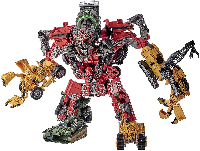 Transformers Toys Studio Series 69 Revenge of The Fallen Devastator Constructicon Action Figures 8-Pack
