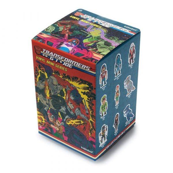 Transformers Vs G.I. Joe Blind Boxed One Random Mini Figure Series