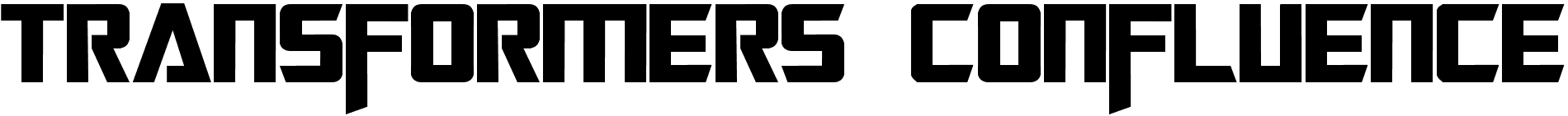 Transformers Confluence