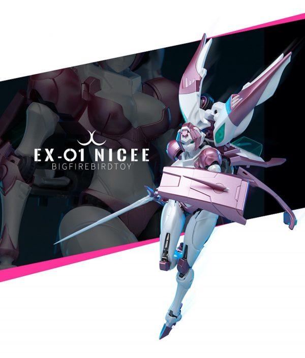 Arcee EX01 EX-01 Big Firebird Rouge Action Figure