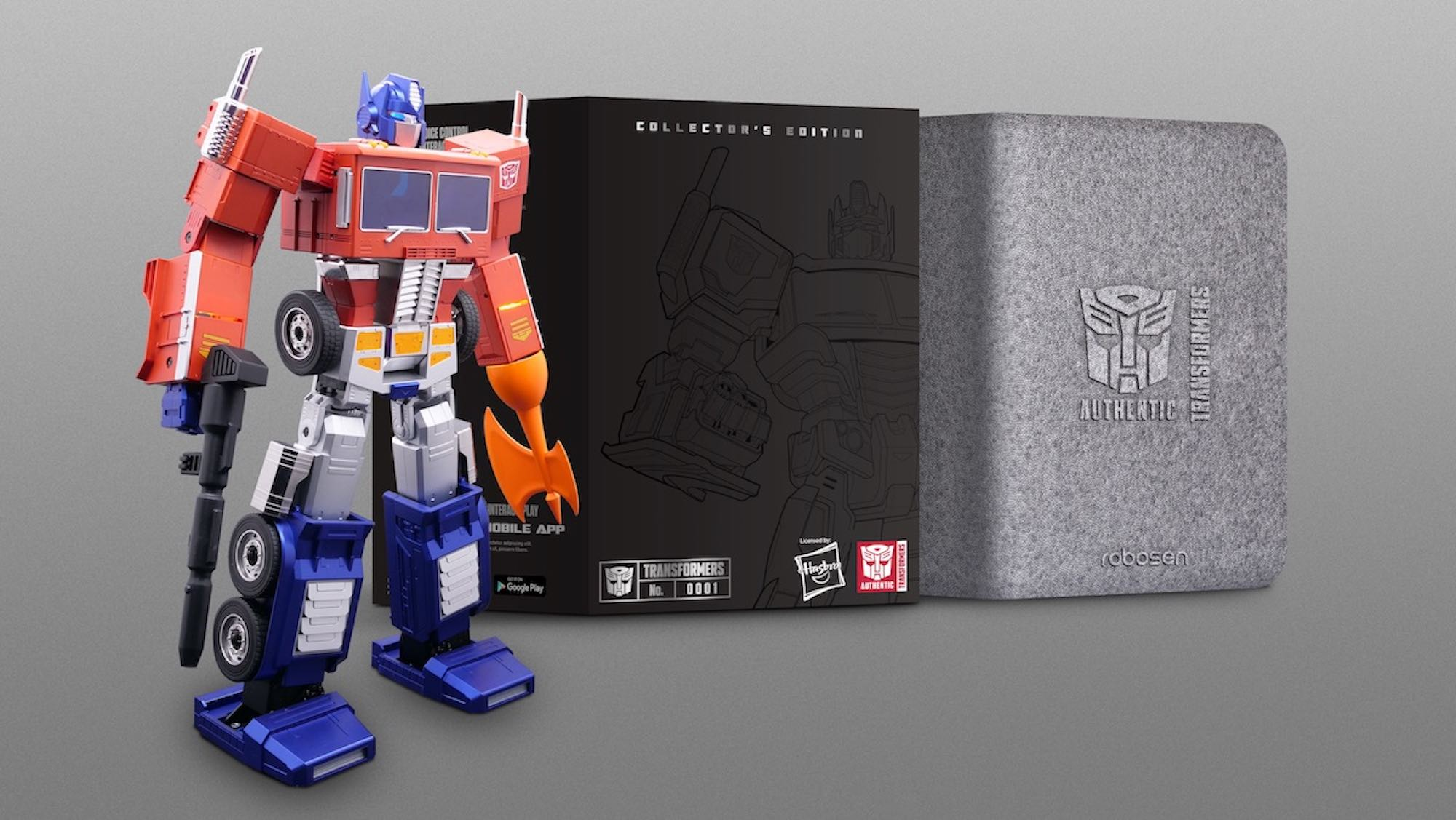 Optimus Prime Robot Box