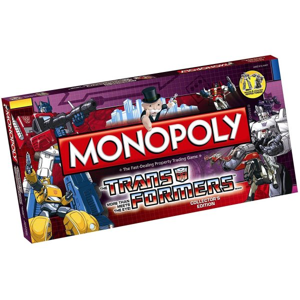 Monopoly Transformers Collector's Edition