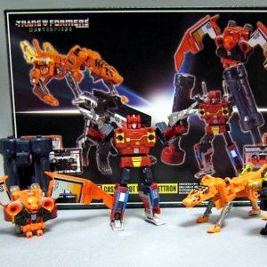 Takara Transformers Master Limited Edition MP15E MP16E Tape Set
