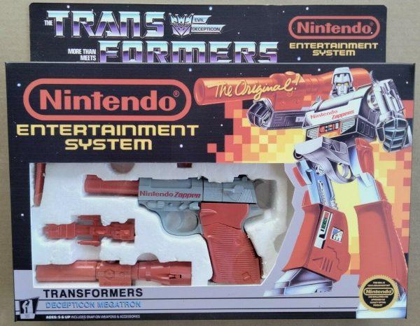 Transformers G1 Megatron Nintendo NES