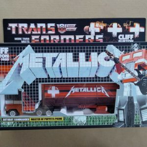 Transformers G1 Metallica Optimus Prime