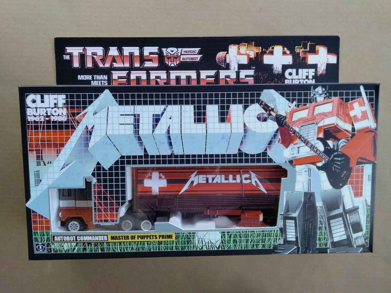 Transformers G1 Metallica Optimus Prime