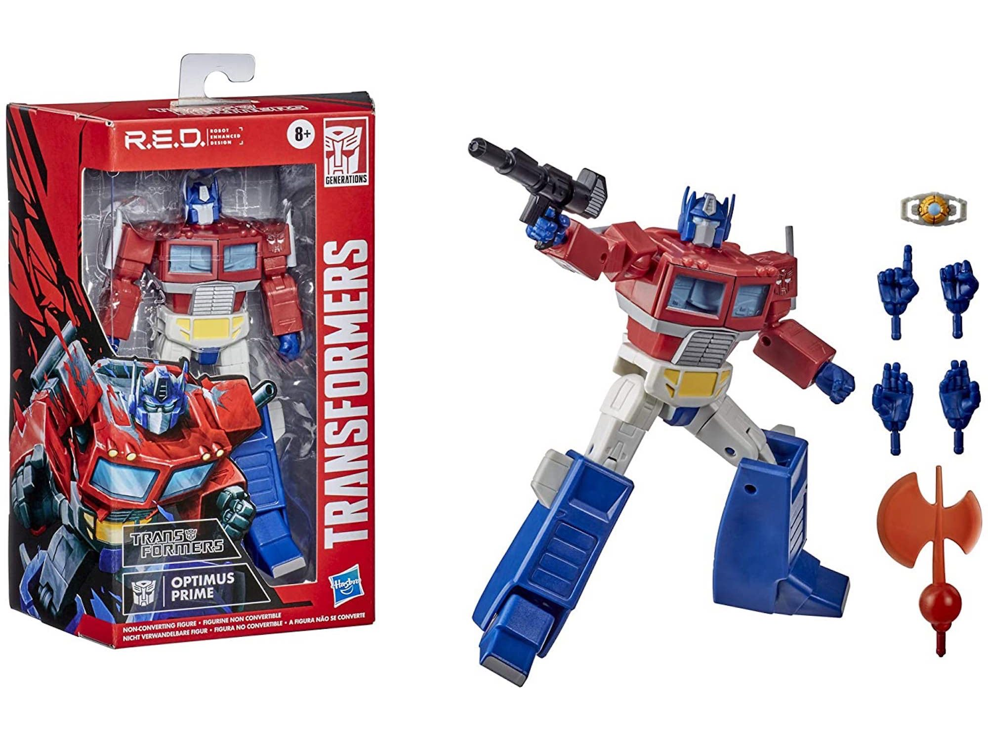 Transformers R.E.D. [Robot Enhanced Design]
