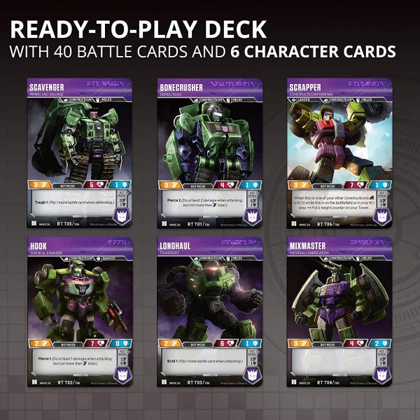 Transformers TCG Devastator Deck