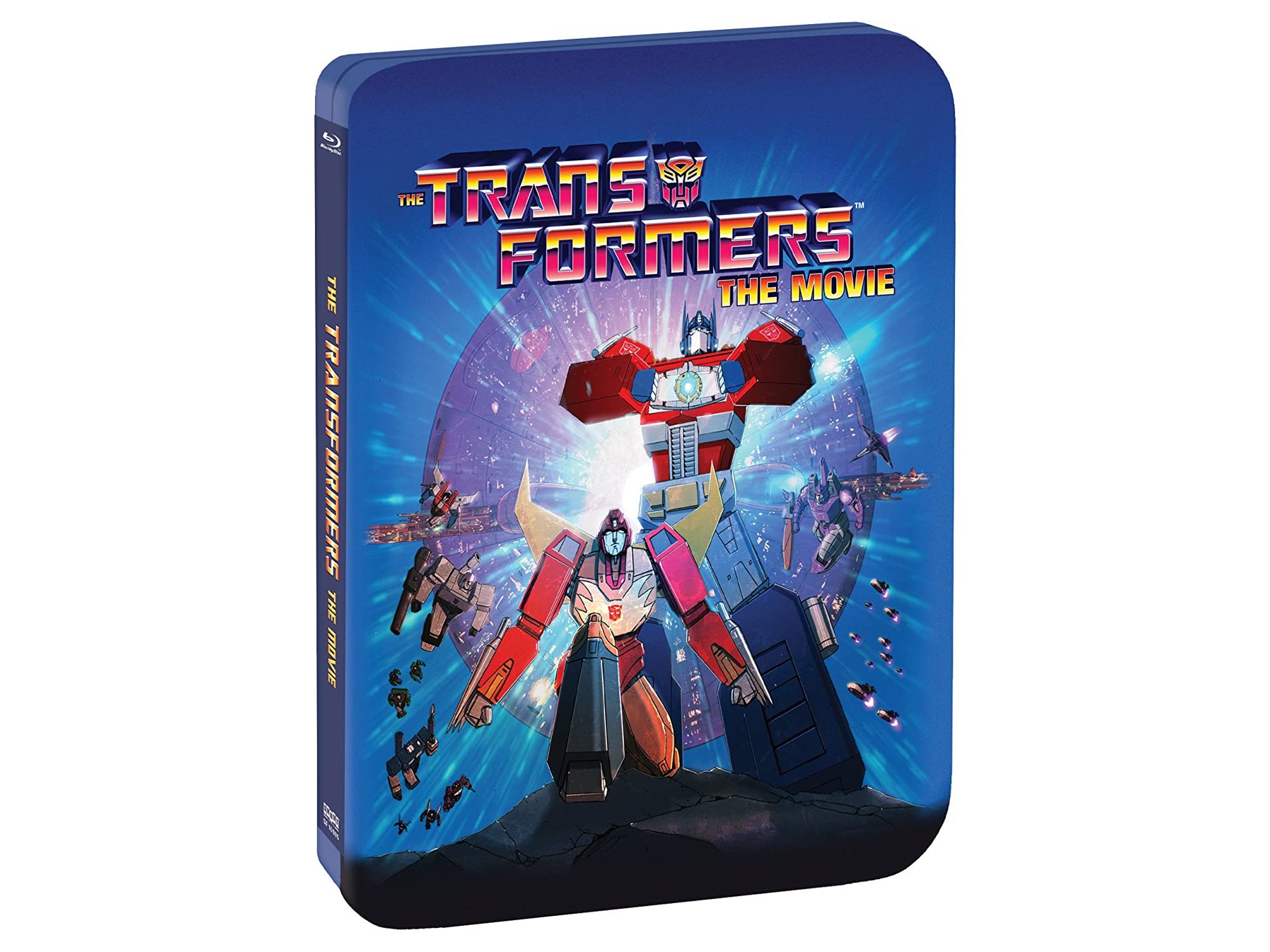 Transformers: The Movie (Limited Edition 30th Anniversary Steelbook) [Blu-ray/Digital]
