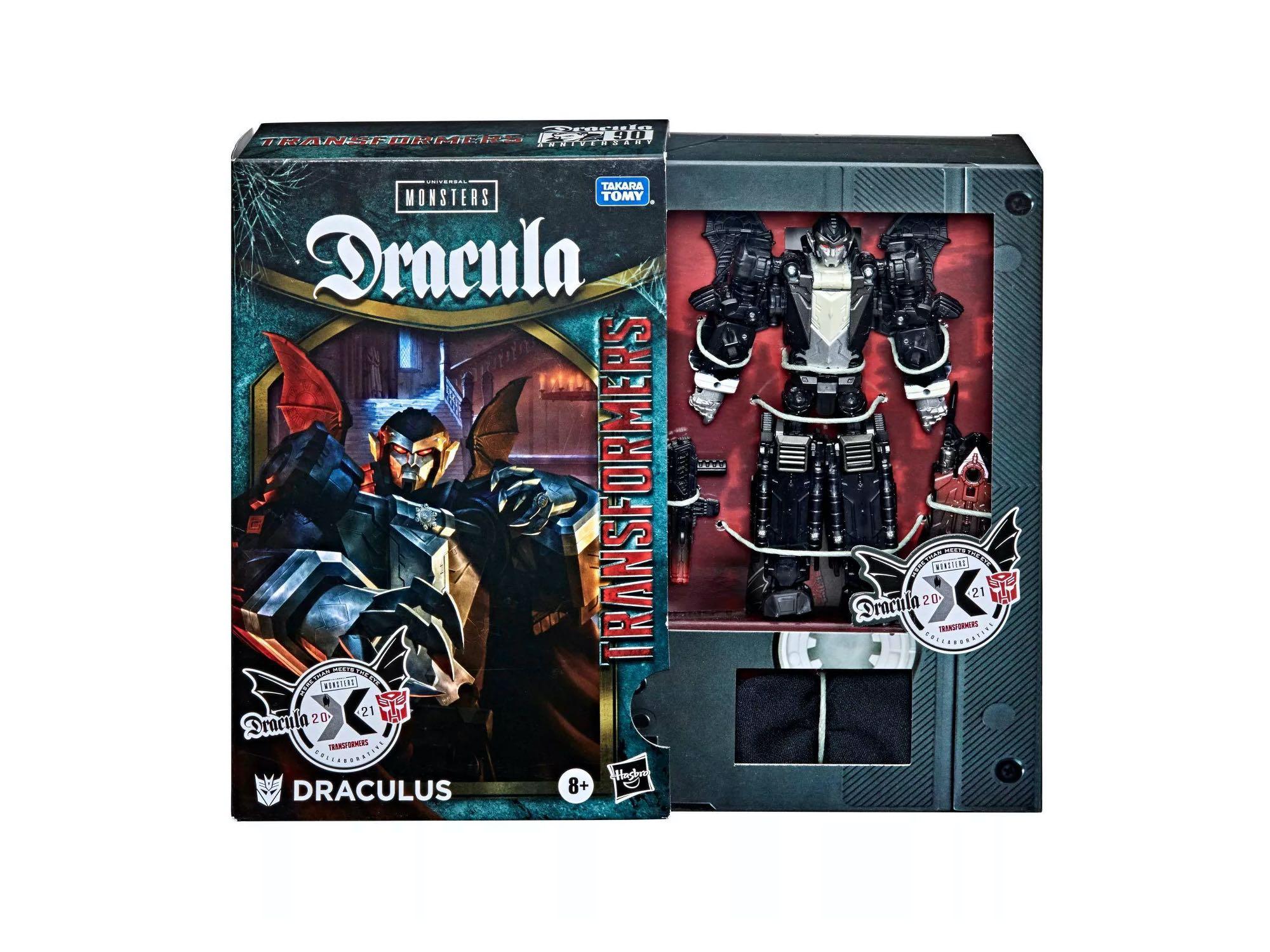 Transformers Collaborative: Universal Monsters Dracula Mash-Up, Draculus