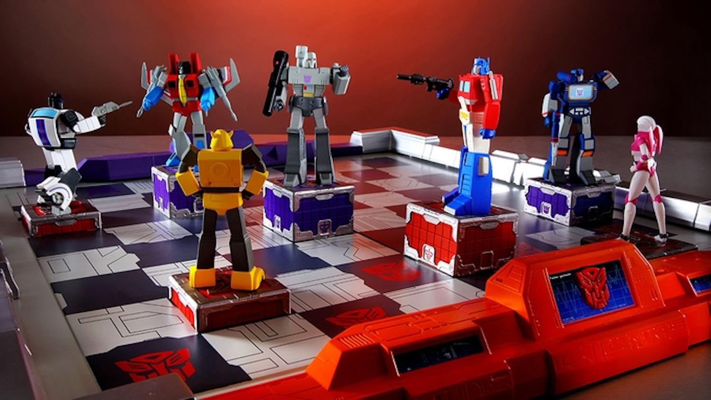 Transformers Gen-1 Chess Set